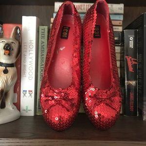 Vintage Ruby Slippers